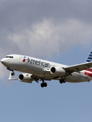 Large american airlines