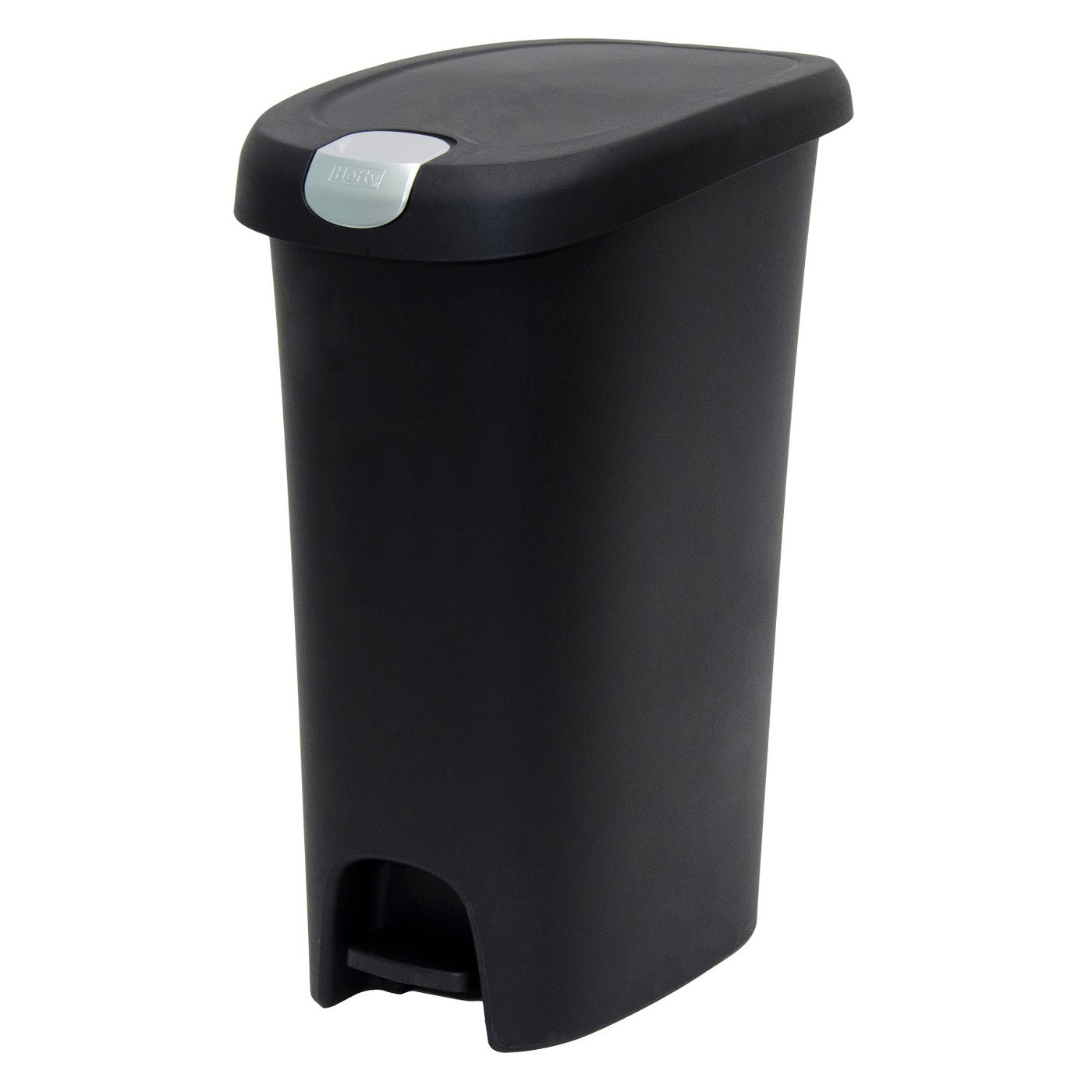 Hefty 12.3 gallon garbage can