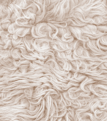Wool carpeting is a natural alternative to synthetic carpeting.