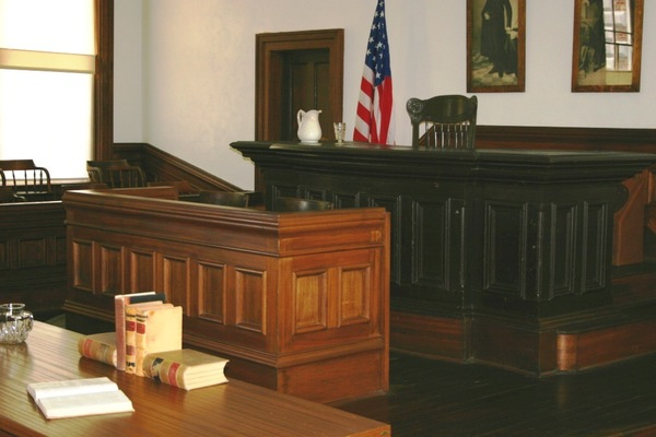 Large courtroom
