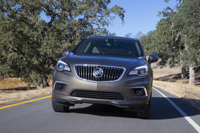 The seven-passenger Enclave is big and the Encore is small, which makes the Envision the perfect fit for Goldilocks and four of her friends.