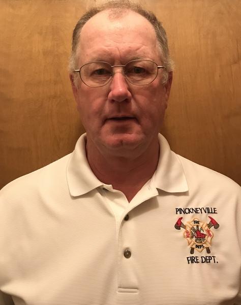 Pinckneyville Fire Chief Jim Gielow