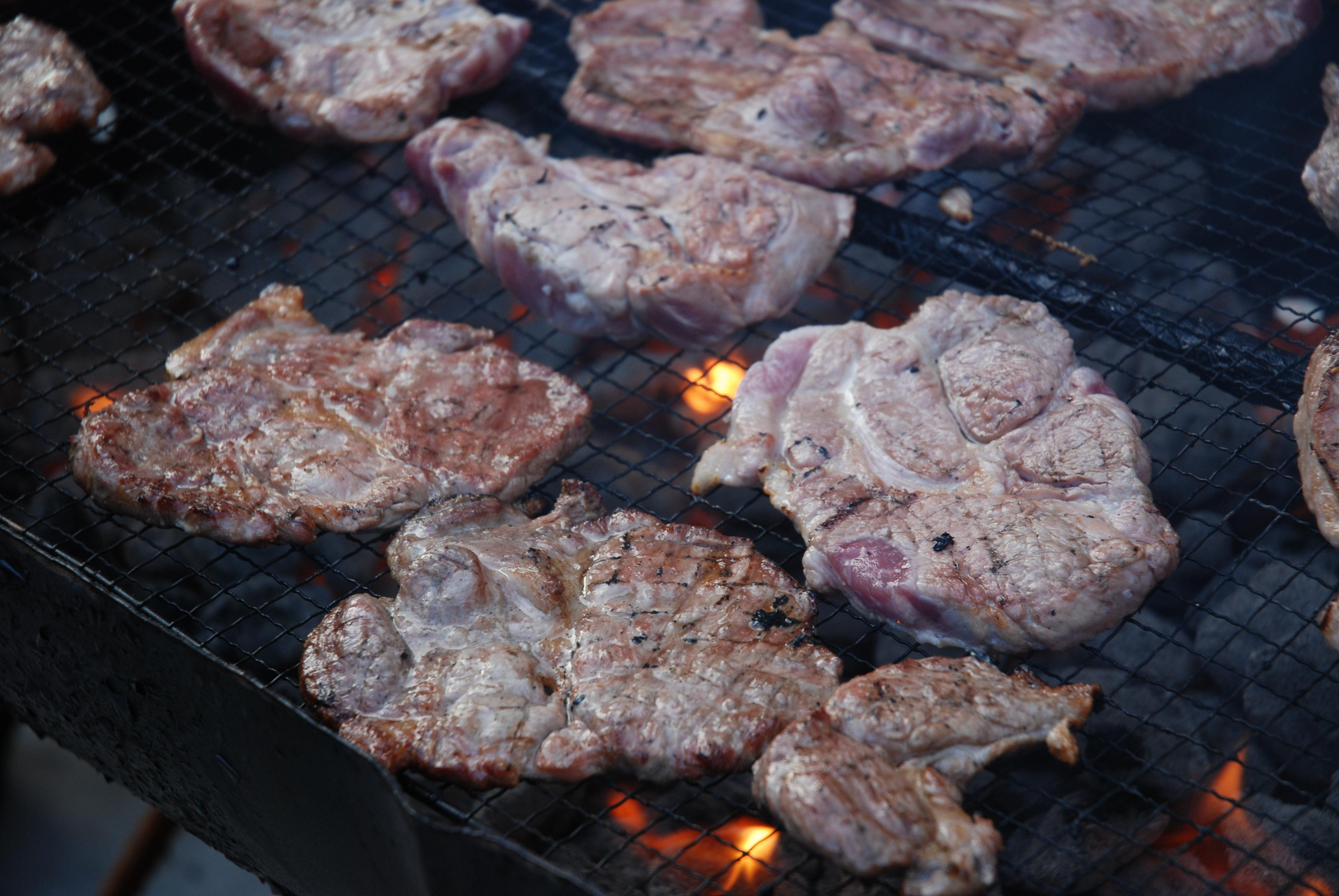 Steaks on the BBQ