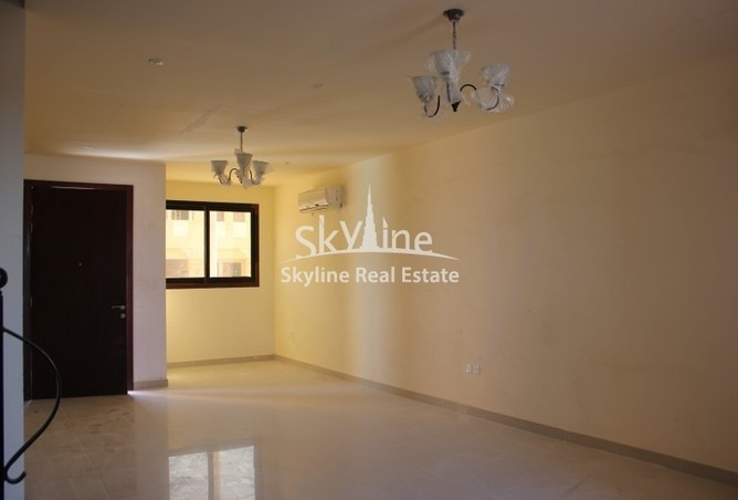 Living space in the available two bedroom apartment in Hydra Village.