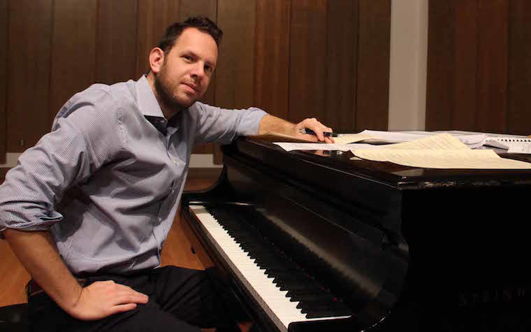 UNO professor of music Yotam Haber is an internationally acclaimed composer.