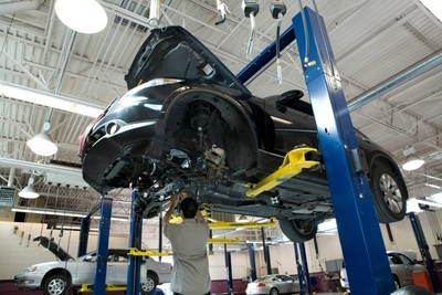 Darcars Automotive can make auto repairs from minor scratches to extensive body work.