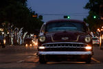 Nighttime cruise-ins can be a mesmerizing event when the right cars show up.