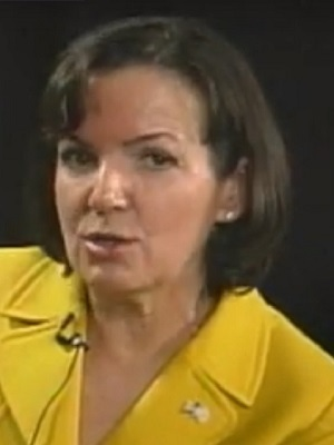Illinois 9th Congressional District challenger Joan McCarthy Lasonde during her interview with North Town News Magazine Editor and Host Avy Meyers