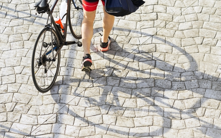 Friday is designated as National Bike To Work Day.