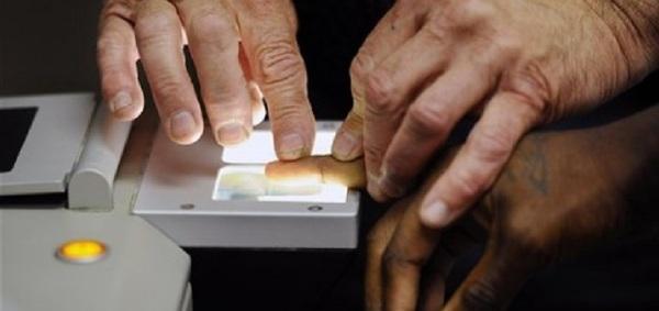 Large fingerprint