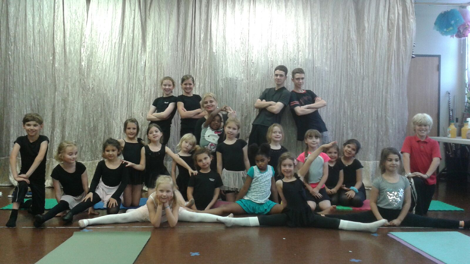 At Sunrise International Dance Company's summer camp, children learn dances from a variety of cultures, as well as gymnastics.