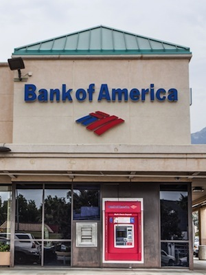 Large bank of america