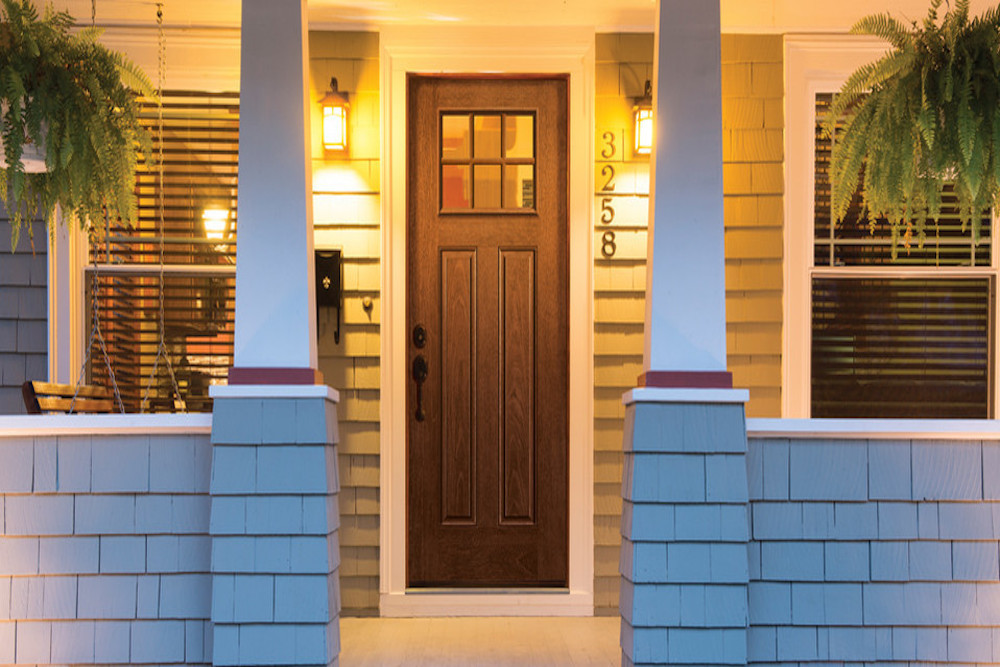 Therma-Tru is an in-demand entry door with the appearance of wood yet durability of steel.