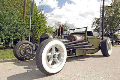 The car show held in conjunction with Hutto's Olde Tyme Days is open to any vehicle built prior to 1980.