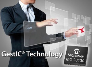 Microchip Technology Inc. is taking gesture interfaces a step further.
