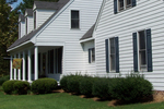 Fiber cement siding can mimic the look of an older home, with many modern advantages.