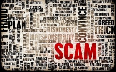 Medium scam wordcloud