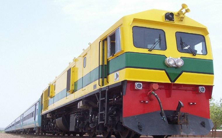Malian railway train