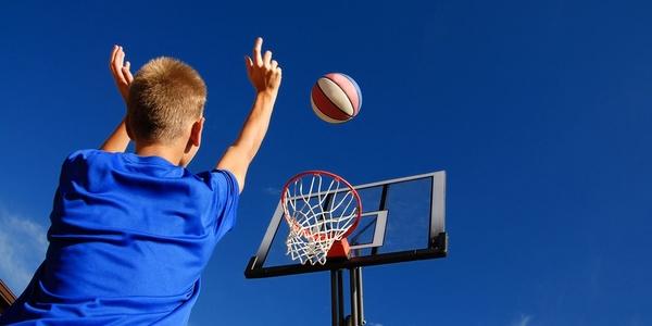 Large basketball