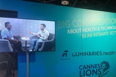 Icons.health at last month's Cannes Lions International Festival of Creativity