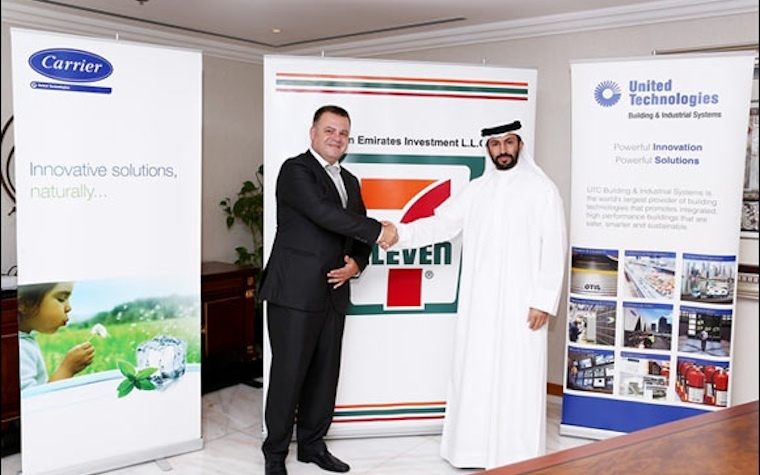 Carrier Commercial Refrigeration to supply new 7-Eleven franchises opening in UAE.