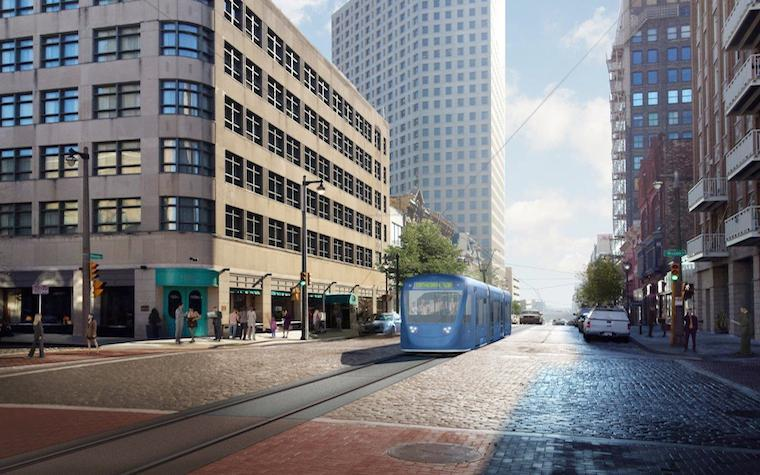 The projected cost of Milwaukee's new downtown streetcar system is $123.9 million.