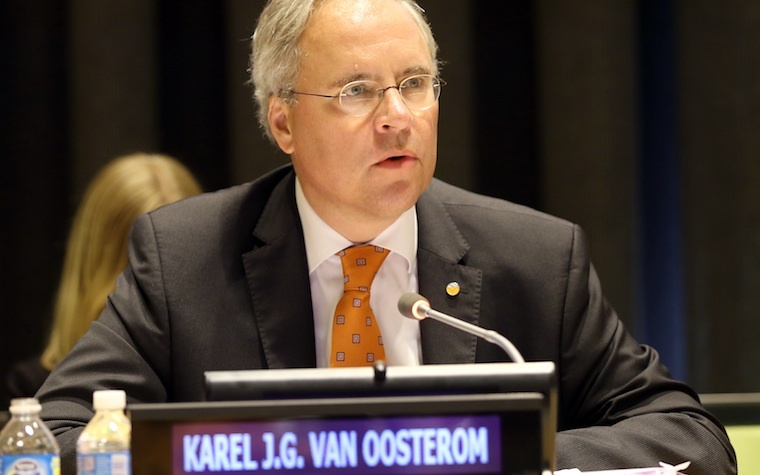 Dutch Ambassador to the United Nations Karel van Oosterom