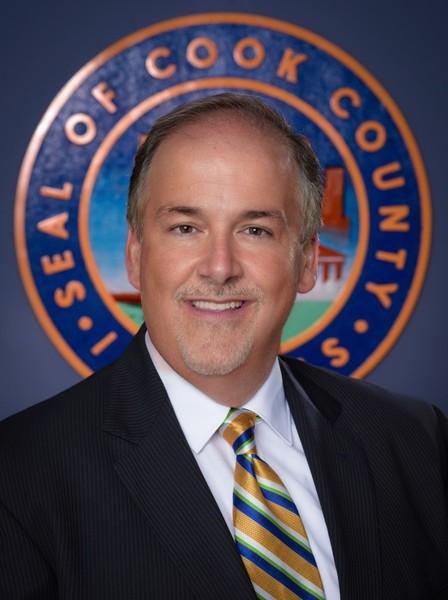 Republican Cook County Board Commissioner Sean Morrison