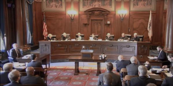 Large illinois supreme court grab