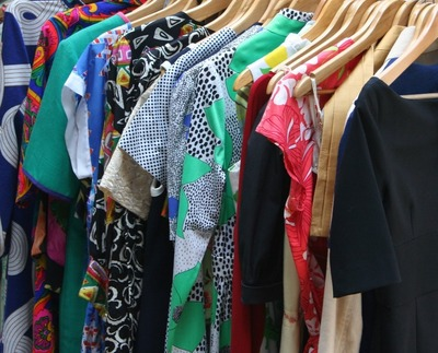 Organizing clothes can help declutter your closet and your life.