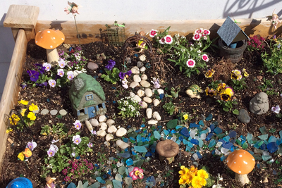 Fairy gardening is a clever blend of botany and imagination.