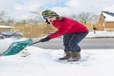 Medium snowshovel
