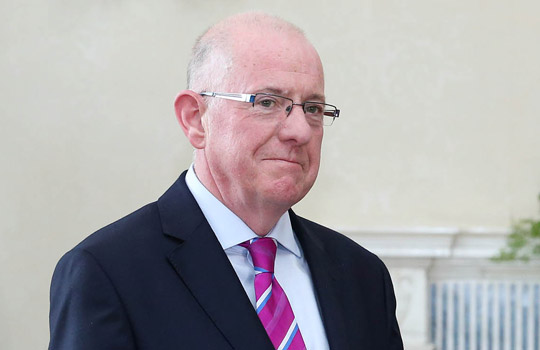 Ireland's Minister for Foreign Affairs and Trade, Charles Flanagan spoke during a monthly meeting of European Union Foreign Ministers on Monday.