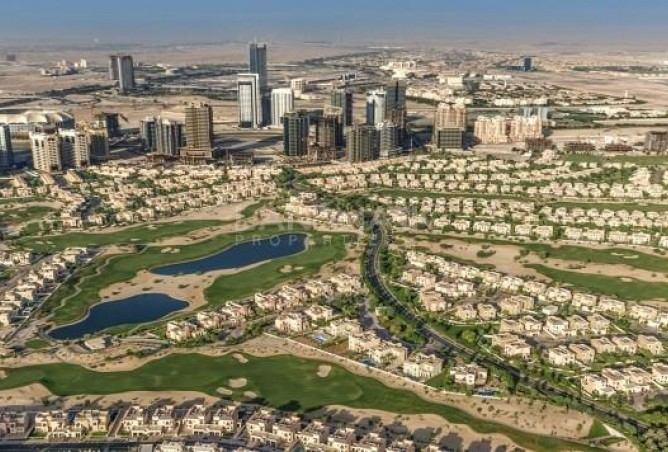 A studio apartment is available in the Sport City development of Dubai.