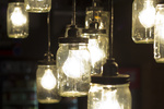 Mason jars have nearly countless uses -- don't overlook their potential as lighting.