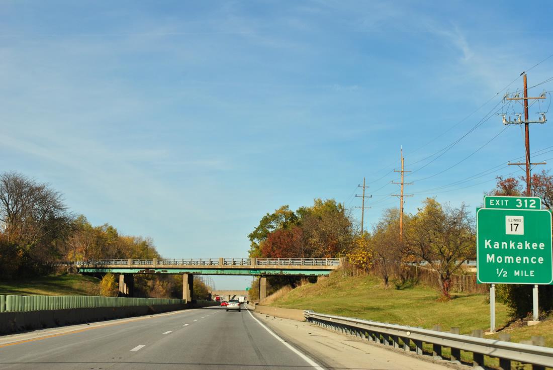 I-57 and IL-17 interchange
