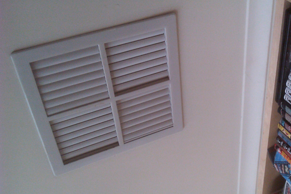 Indoor air quality can be adversely affected by old or dirty AC systems.