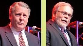 Kirk Allen and John Kraft, co-founders of the Edgar County Watchdogs