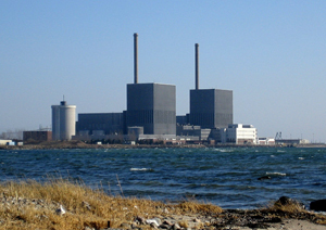 The Barsebäck Nuclear Power Station.