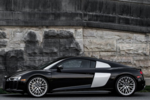 Exterior lines of the R8 have striking resemblance to race cars.