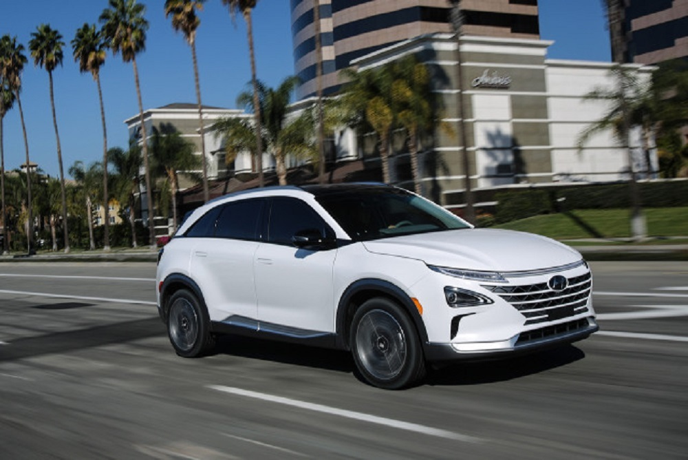 The 2019 Hyundai NEXO is the only mass-produced, fuel-cell SUV for the U.S. market.