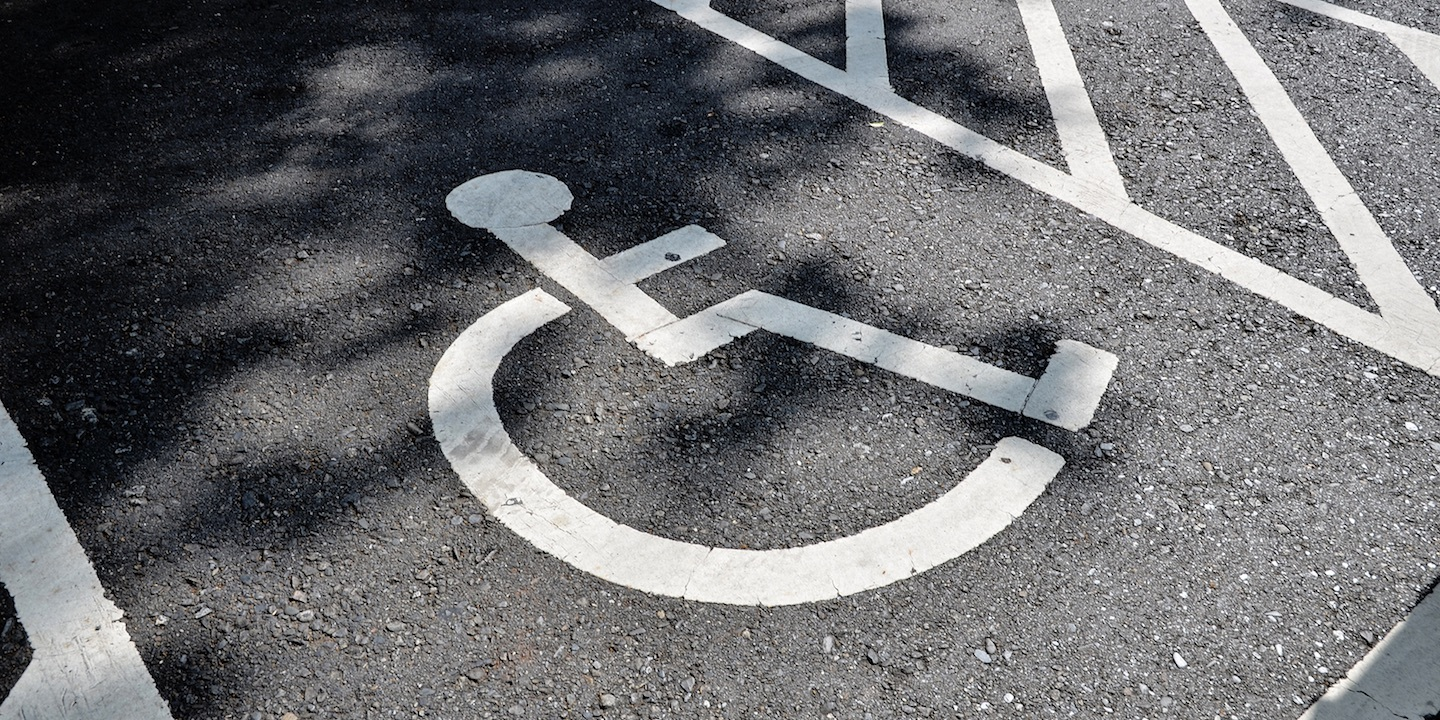 Handicapped sign 07