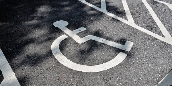 Large handicapped sign 07
