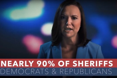 Republican Ashley Moody, in a campaign ad running for Florida Attorney General