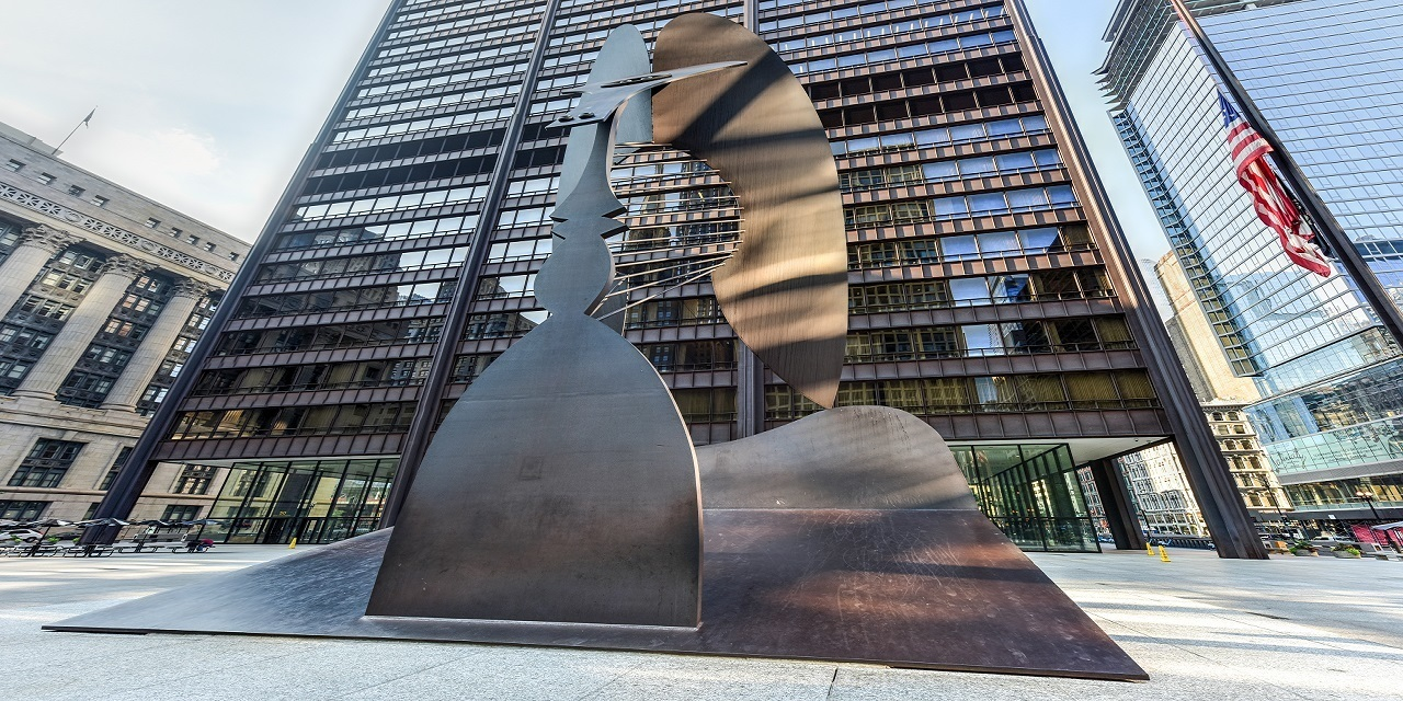 Chicago daley center picasso large
