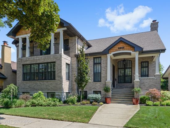 The home for sale at 6849 N. Keeler Ave. in Lincolnwood had a property tax bill of $8,220 in 2016.