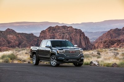 GMC replaced two Sierra 1500 colors -- crimson red and pepperdust -- with new shades called deep mahogany metallic and red quartz tintcoat.