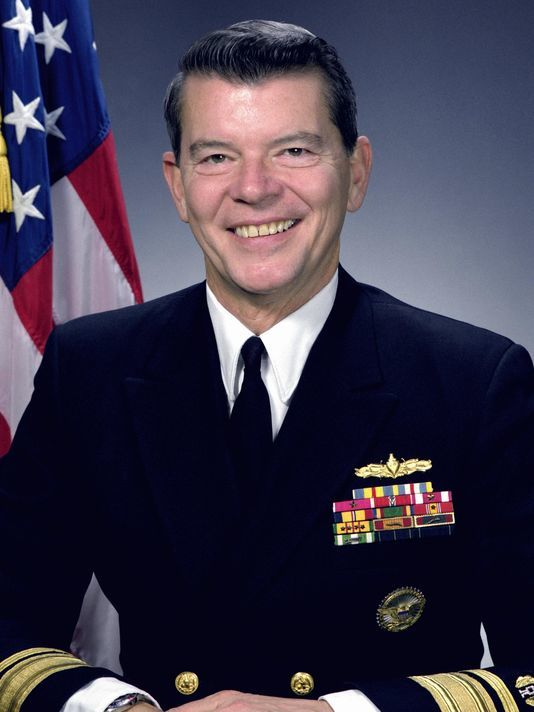 William L. Schachte, Real Admiral U.S. Navy (ret).