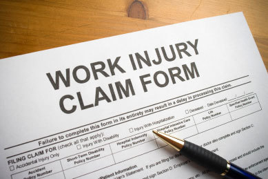Workplace injuries accidents