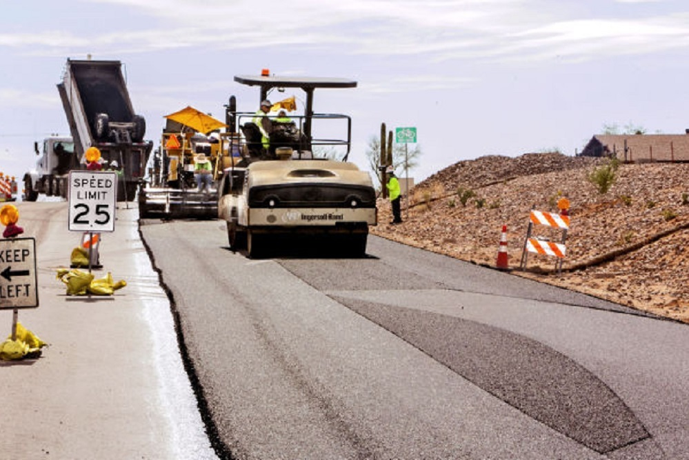 The board approved the road repair in a recent 3-2 vote.